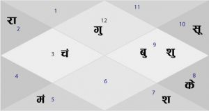 12 Houses and planets for Horoscope Reading