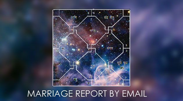 Marriage report by email